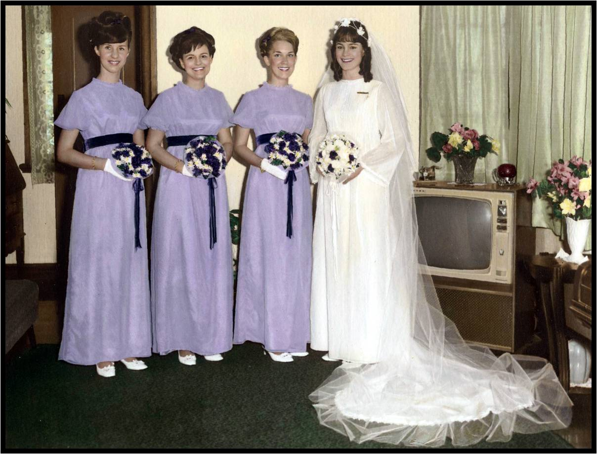 Judy Beeston Bridal Party
