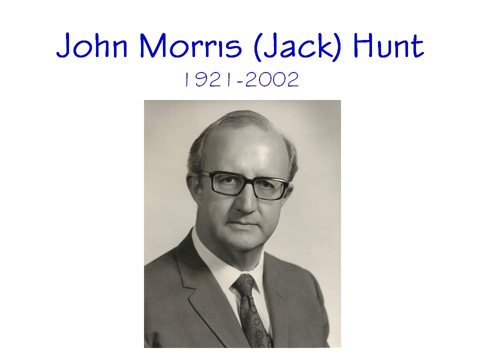 John Morris Hunt Eulogy